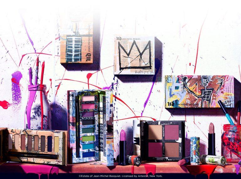 Schatten an der Wand! Jean Michel Basquiat – zwei großartige Lidschattenpaletten von Urban Decay