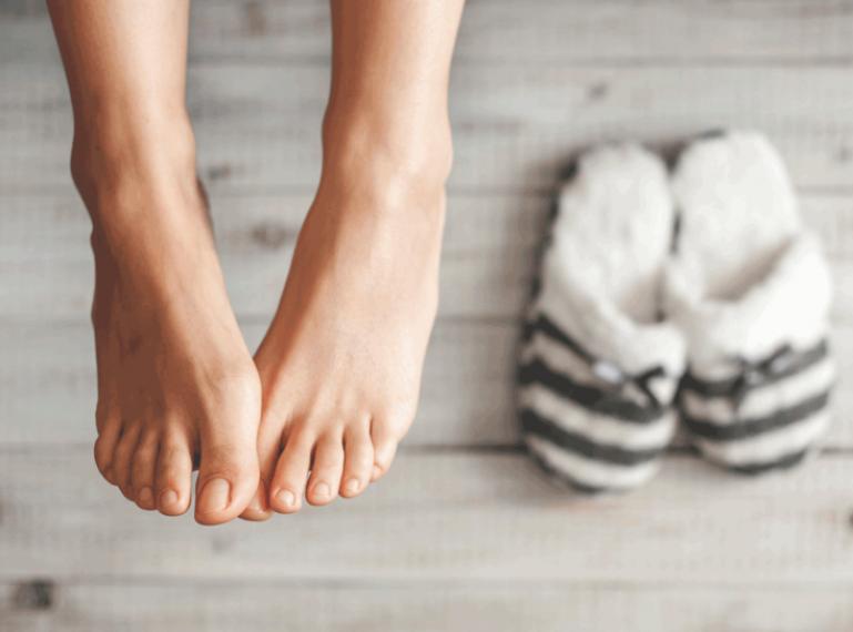 Wie hört ihr auf, einen Frosch zu sein? Beste Hausmethoden gegen kalte Füße!
