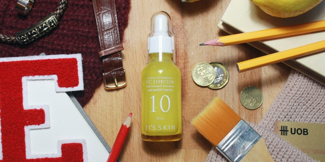 Wie verleihst du der Haut einen gesunden Glanz? Das aufhellende Gesichtsserum It's Skin Power 10 Formula VC Effector